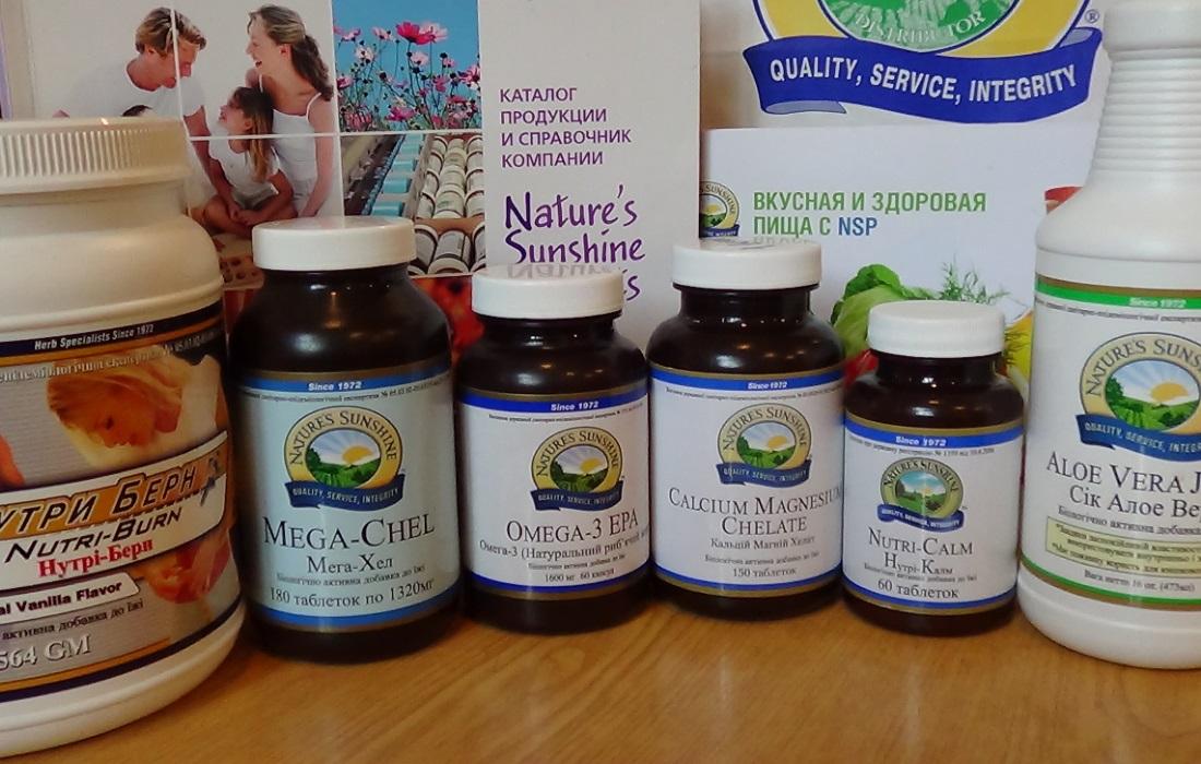 Фото Продукция компании NSP: витамины, протеиновые коктейли, соки
