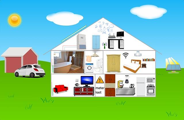 Картинка Большое количество источников излучения в доме