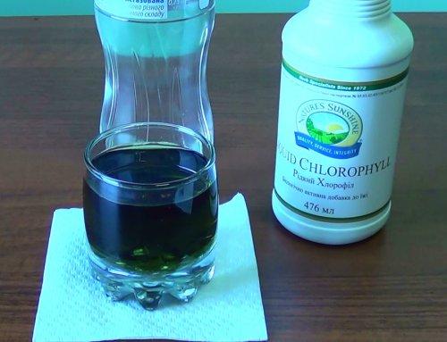 hlorofill - хлорофилл сок растений