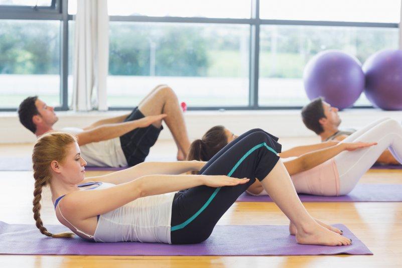 Фото Комплекс упражнений для похудения пилатес
